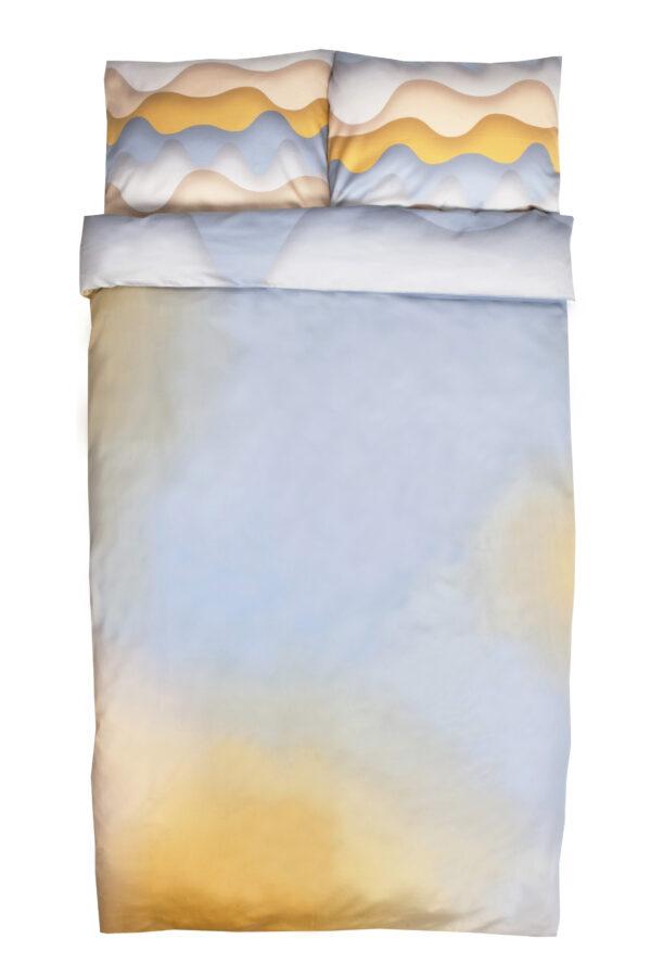Doppel Bettwäsche-Set Mäuse auf Eisjagd